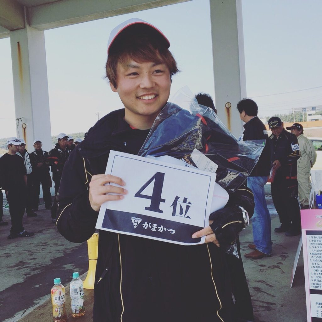 まりんのこいけ 初G杯チヌ予選で4位