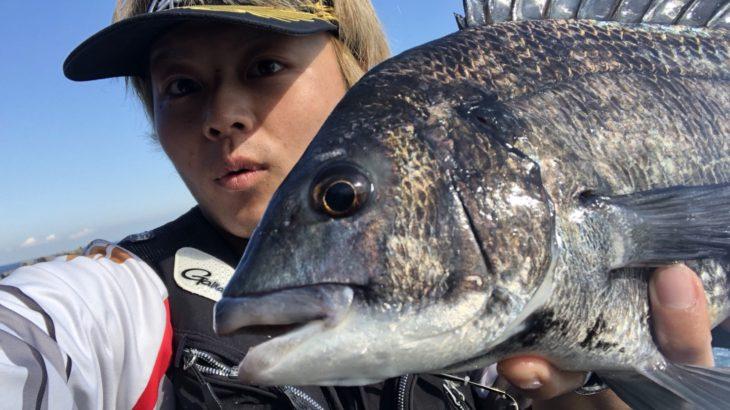 【激渋】真鶴でチヌ釣り!バレンタインデーの過ごし方