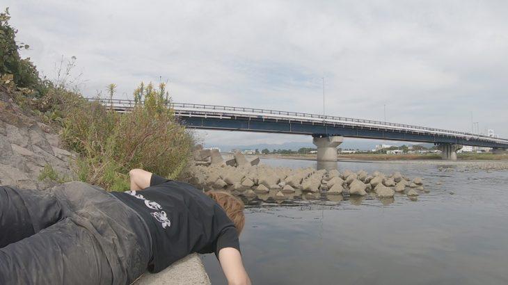 酒匂川で手長エビ釣り!まさかの大物が・・!!!びっくりの釣果でした(笑)