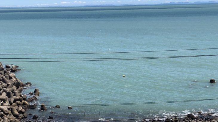 【相模湾・相模灘】恐るべし・・大雨の威力・・。こんな景色は初めて見た。