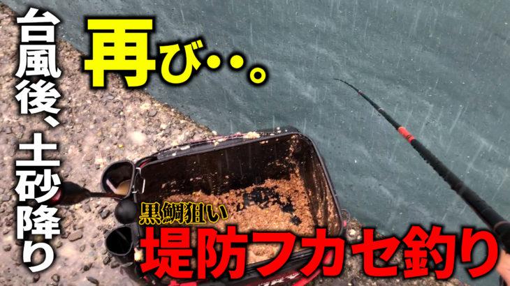 【江之浦漁港】梅雨の再来??自然に立ち向かった結果・・・。※8.14現在、江之浦漁港はコロナ警戒による閉鎖などは特になし